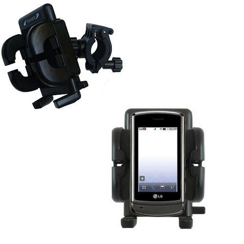 Handlebar Holder compatible with the LG UX830 UX840