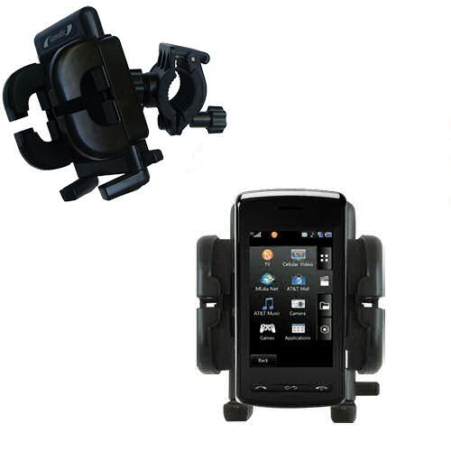 Handlebar Holder compatible with the LG Vu