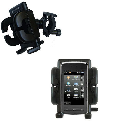 Handlebar Holder compatible with the LG Vu Plus