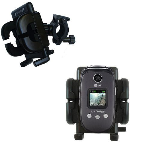 Handlebar Holder compatible with the LG VX8350