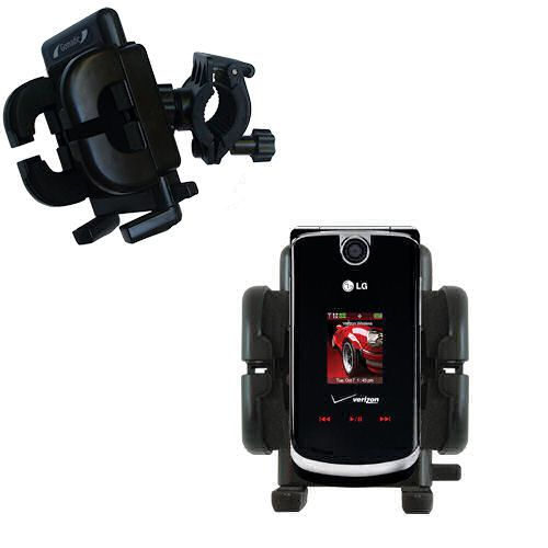 Handlebar Holder compatible with the LG VX8600