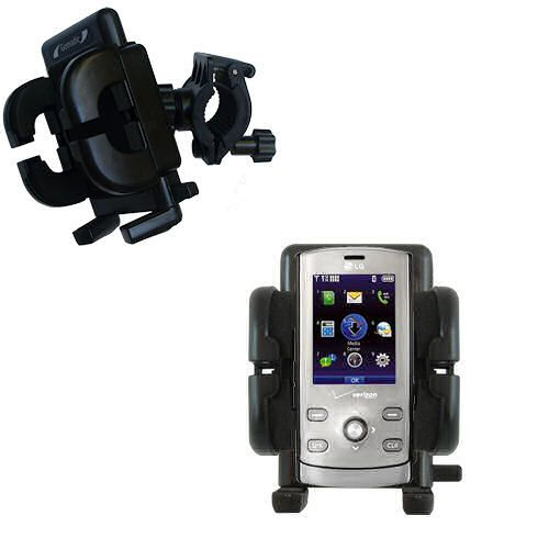 Handlebar Holder compatible with the LG VX8610