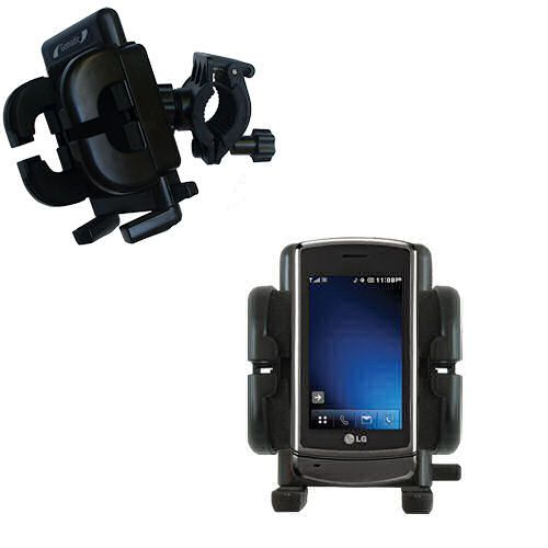 Handlebar Holder compatible with the LG VX9700