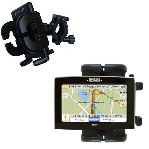 Handlebar Holder compatible with the Magellan Maestro 4250
