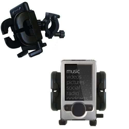 Handlebar Holder compatible with the Microsoft Zune (2nd and Latest Generation)
