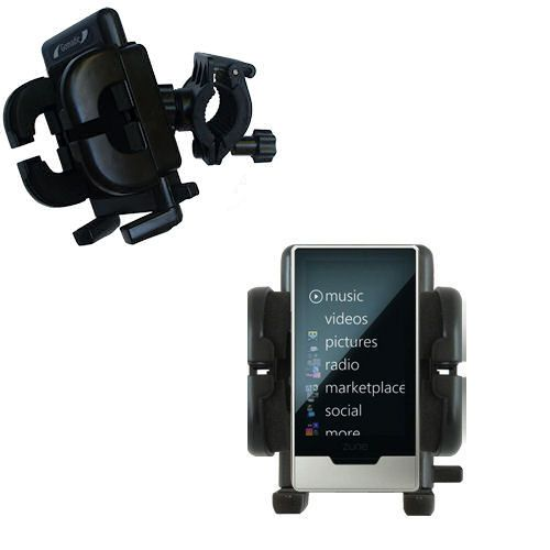 Handlebar Holder compatible with the Microsoft Zune HD
