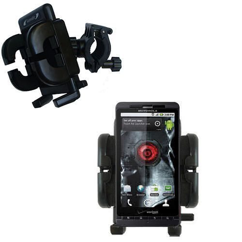 Handlebar Holder compatible with the Motorola Droid X