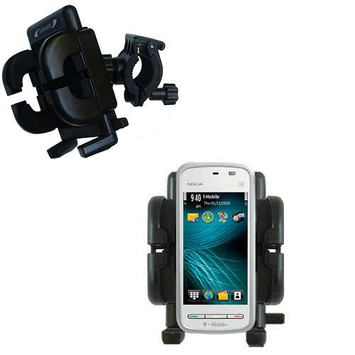 Handlebar Holder compatible with the Nokia 5230 Nuron