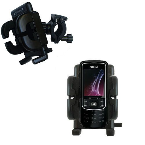 Handlebar Holder compatible with the Nokia 8600 Luna