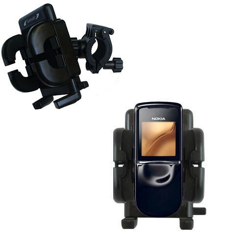 Handlebar Holder compatible with the Nokia 8800