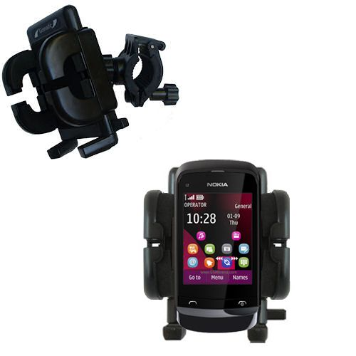 Handlebar Holder compatible with the Nokia C2-O2