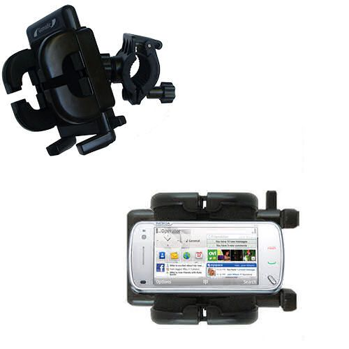 Handlebar Holder compatible with the Nokia N97 Mini