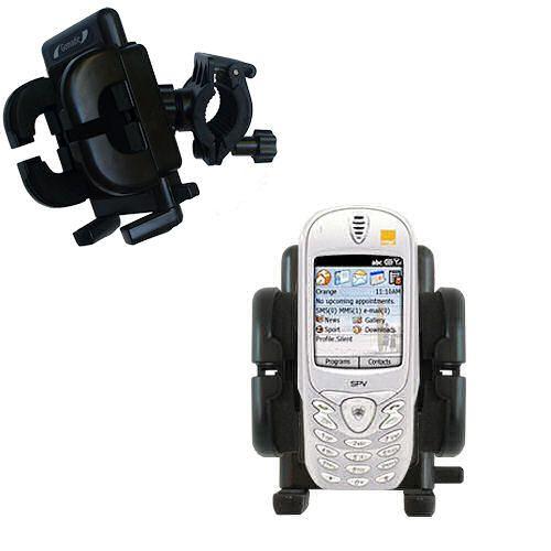 Handlebar Holder compatible with the Orange SPV Smartphone