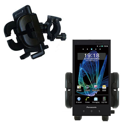 Handlebar Holder compatible with the Panasonic Eluga / dL1