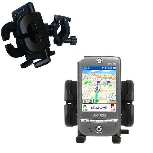 Handlebar Holder compatible with the Pharos GPS 525E