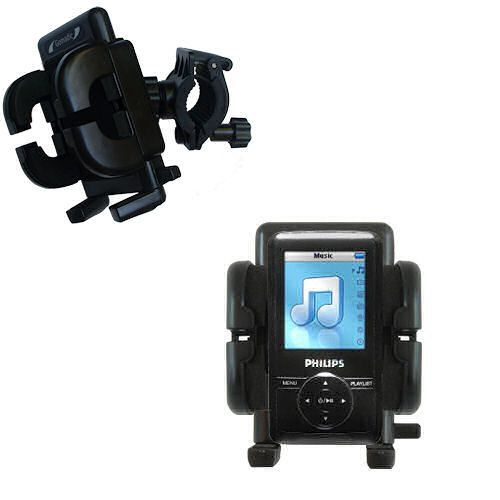 Handlebar Holder compatible with the Philips GoGear SA3125/37