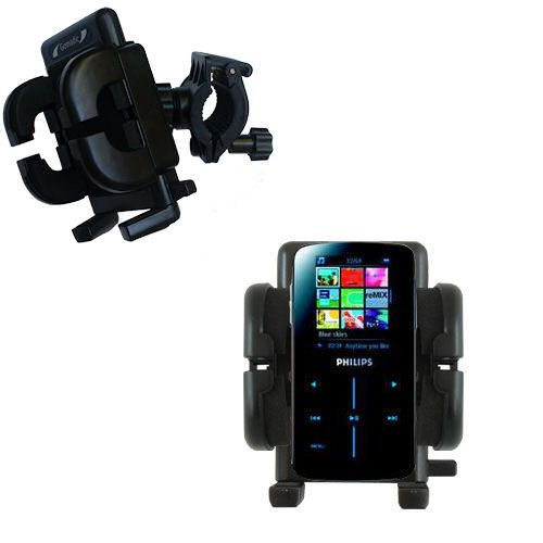 Handlebar Holder compatible with the Philips GoGear SA9325/00