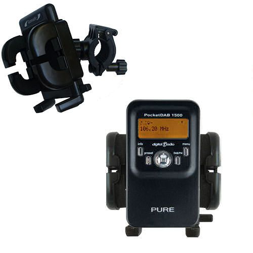 Handlebar Holder compatible with the PURE PocketDAB 1500