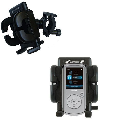 Handlebar Holder compatible with the RCA M4102 Opal Digital Media Player