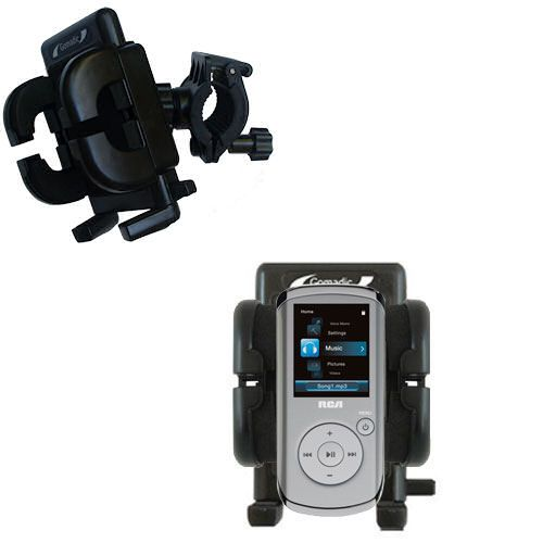 Handlebar Holder compatible with the RCA M4108 Digital Music Player