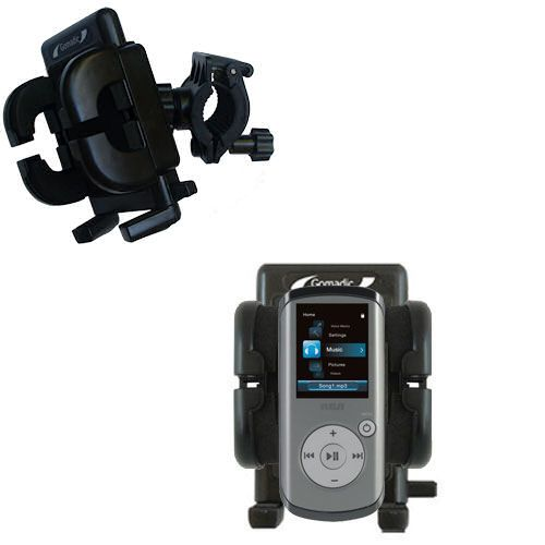 Handlebar Holder compatible with the RCA M4202 OPAL Digital Media Player