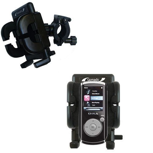 Handlebar Holder compatible with the RCA M4204 OPAL Digital Media Player
