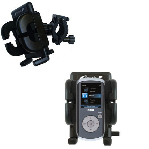 Handlebar Holder compatible with the RCA M4208 OPAL Digital Media Player