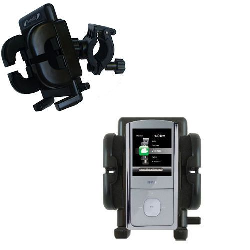 Handlebar Holder compatible with the RCA M4304 Opal Digital Media Player