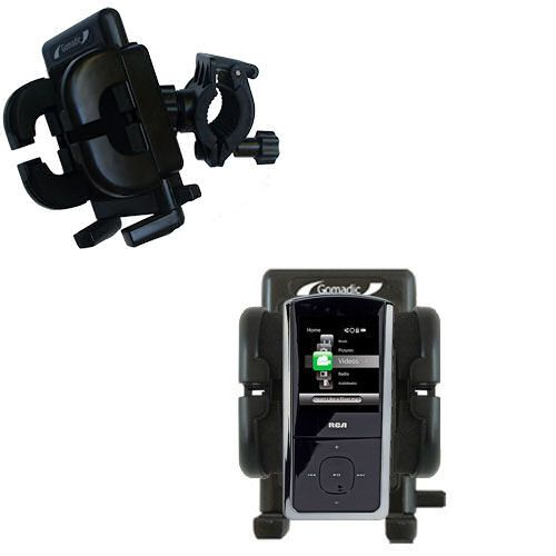 Handlebar Holder compatible with the RCA M4308 Digital Music Player