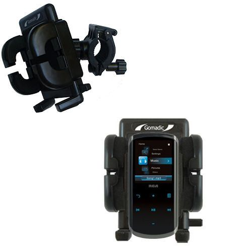 Handlebar Holder compatible with the RCA M4508 Lyra Digital Media Player