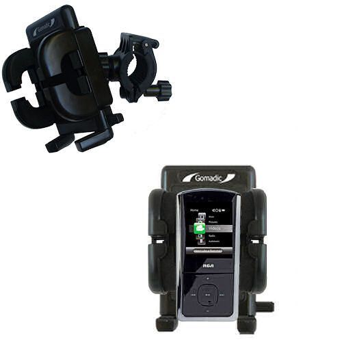 Handlebar Holder compatible with the RCA MC4302 Digital Music Player