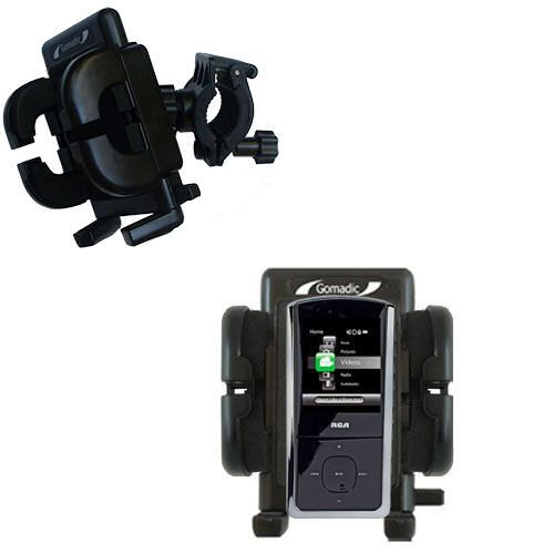 Handlebar Holder compatible with the RCA MC4308 Digital Music Player