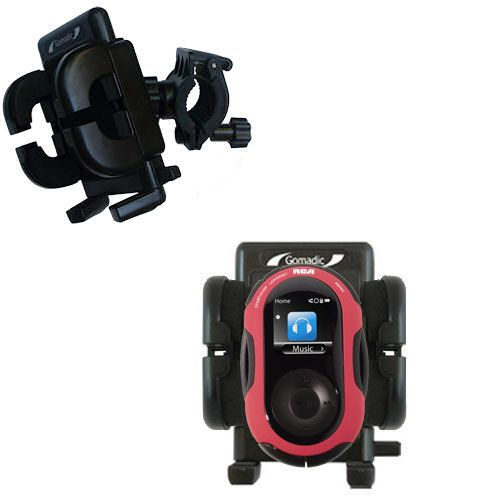 Handlebar Holder compatible with the RCA SC2202 JET Digital Audio Player