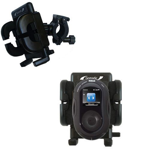 Handlebar Holder compatible with the RCA SC2204 JET Digital Audio Player