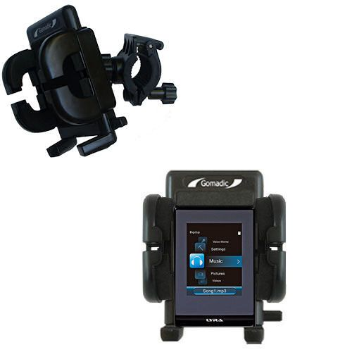 Handlebar Holder compatible with the RCA SL5008 LYRA Slider Media Player