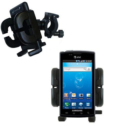 Handlebar Holder compatible with the Samsung Captivate
