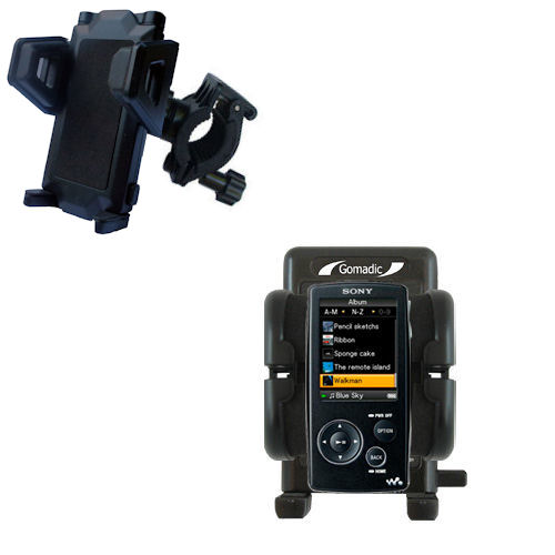 Handlebar Holder compatible with the Sony Walkman NWZ-A805