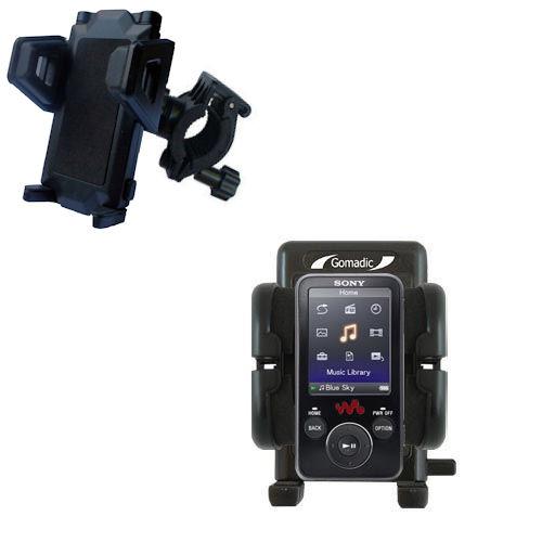 Handlebar Holder compatible with the Sony Walkman NWZ-E438F