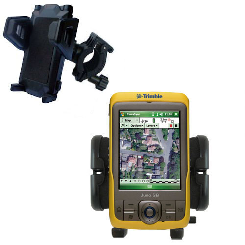 Handlebar Holder compatible with the Trimble Juno SB