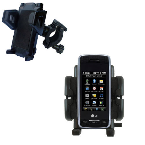 Handlebar Holder compatible with the Verizon Voyager