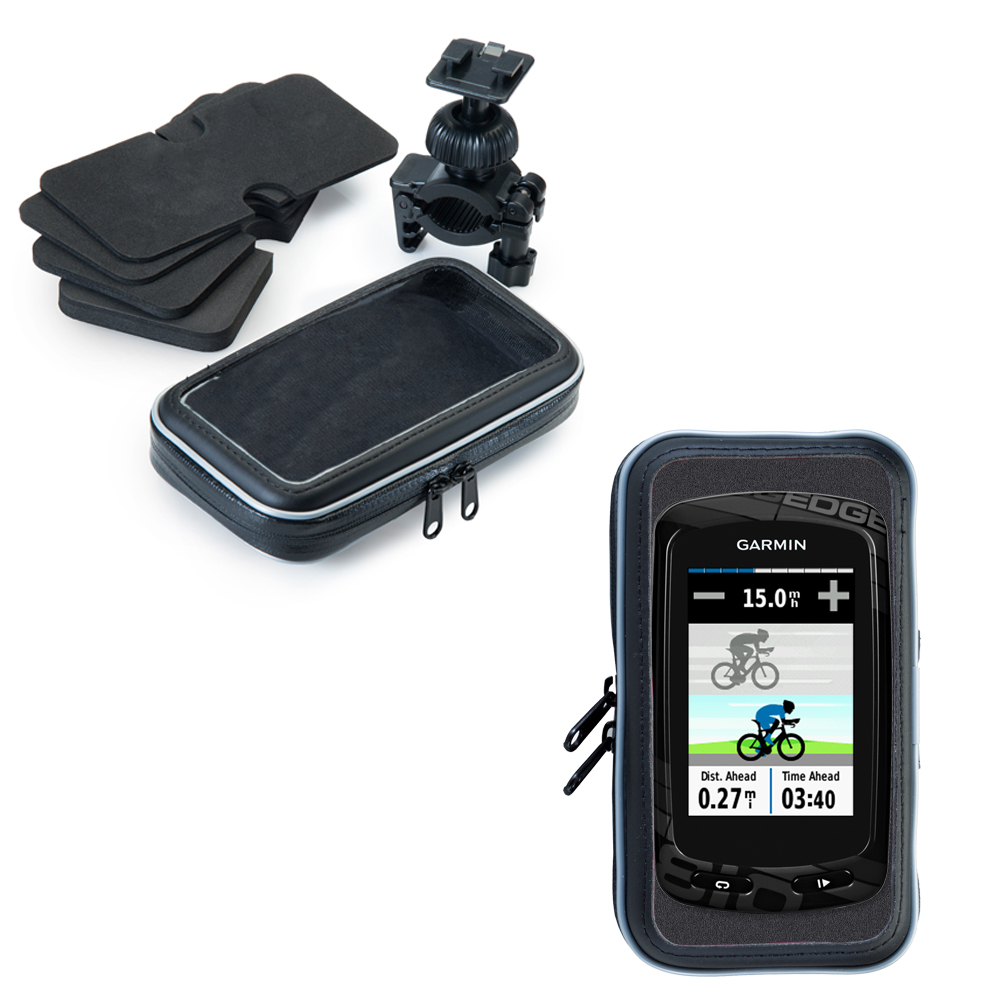 Weatherproof Handlebar Holder compatible with the Garmin Edge 800