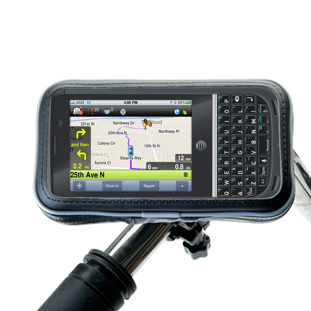 Weatherproof Handlebar Holder compatible with the NEC Terrain