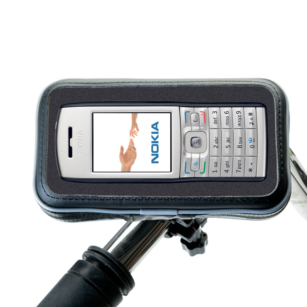 Weatherproof Handlebar Holder compatible with the Nokia E50