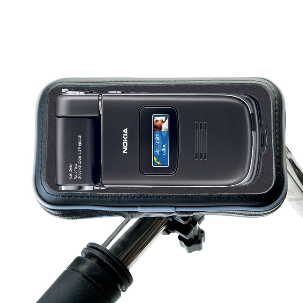 Weatherproof Handlebar Holder compatible with the Nokia N90 N93 N95