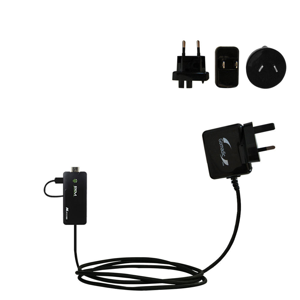 International Wall Charger compatible with the Android MK802 Plus