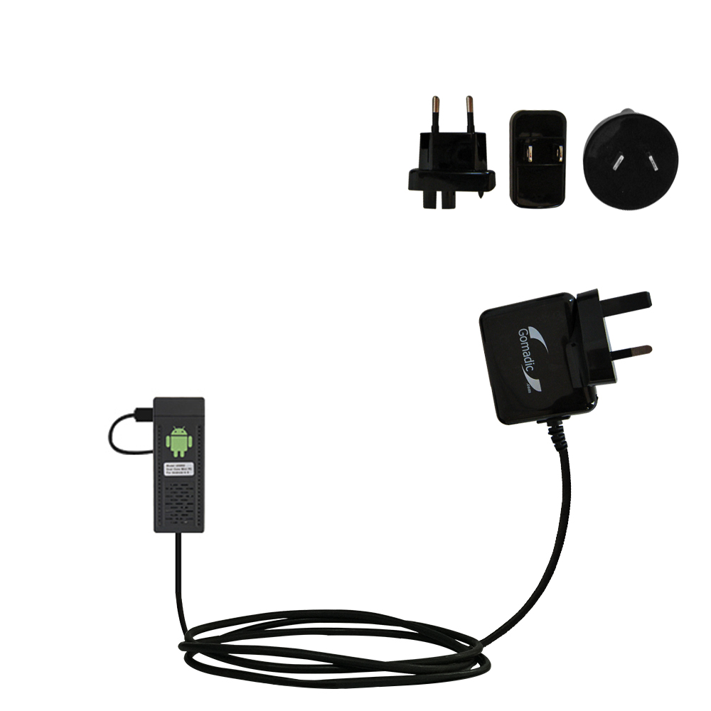 International Wall Charger compatible with the Android UG802 Mini PC