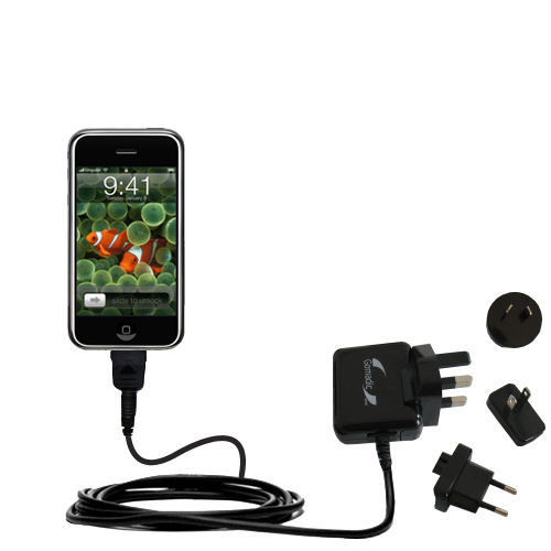 International Wall Charger compatible with the Apple iPod touch