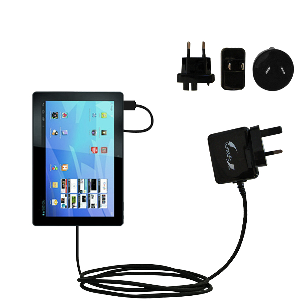 International Wall Charger compatible with the Archos Familypad 2