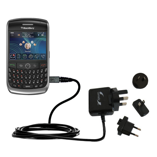 International Wall Charger compatible with the Blackberry 8900