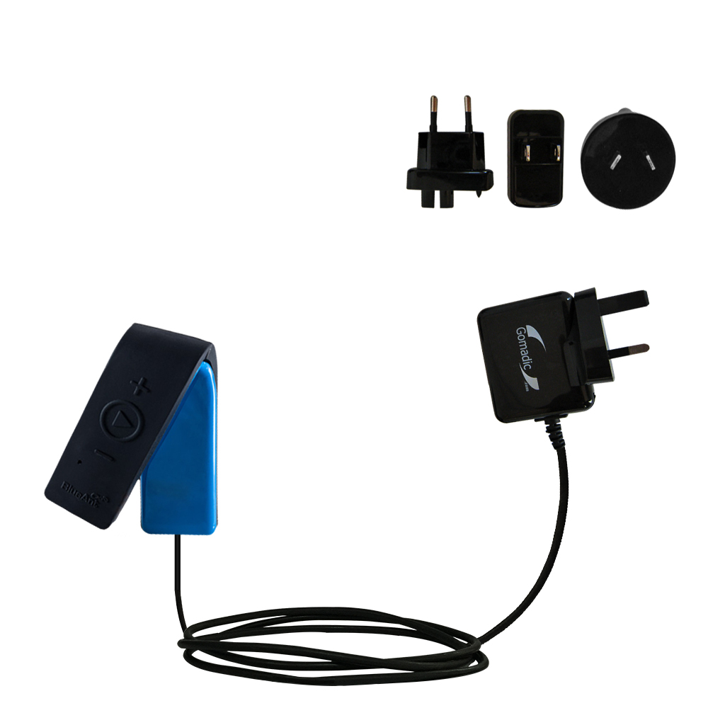 International Wall Charger compatible with the BlueAnt RIBBON